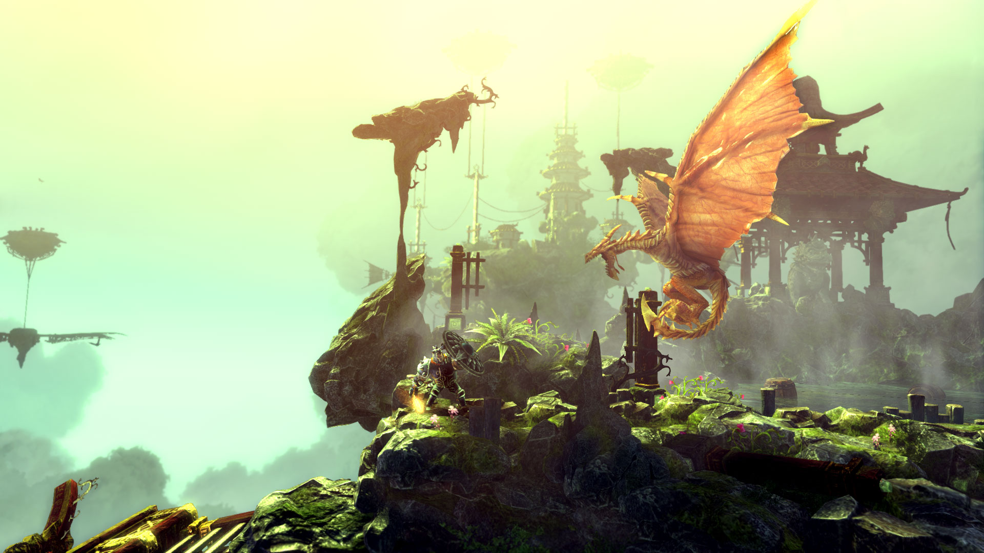 Trine 2: Complete Story for PS4 out now in the US and Europe